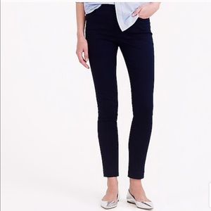 J. Crew Dannie High Waisted Black Pants Size 2